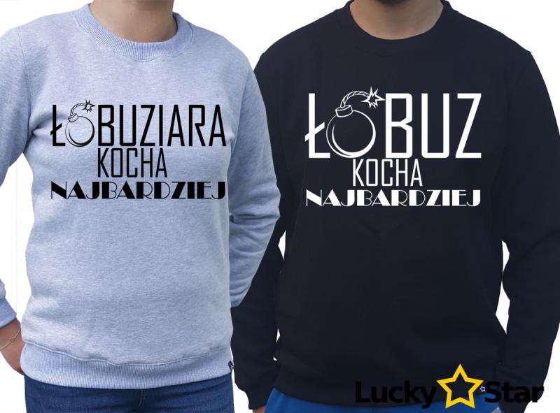 Bluzy dla par Łobuz, Łobuziara kocha najbardziej