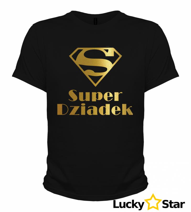 Koszulka Męska Suuuper Dziadek