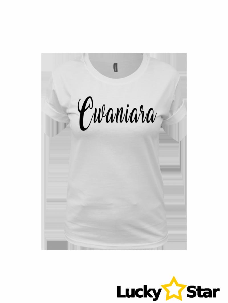 Koszulka Damska Cwaniara