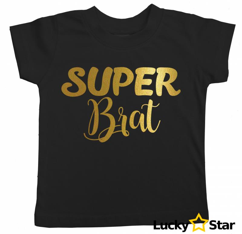 Koszulka dziecięca Super Brat