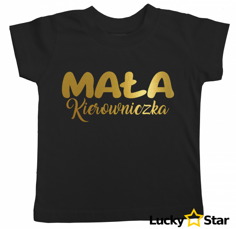 Koszulka dziecięca Mała Kierowniczka