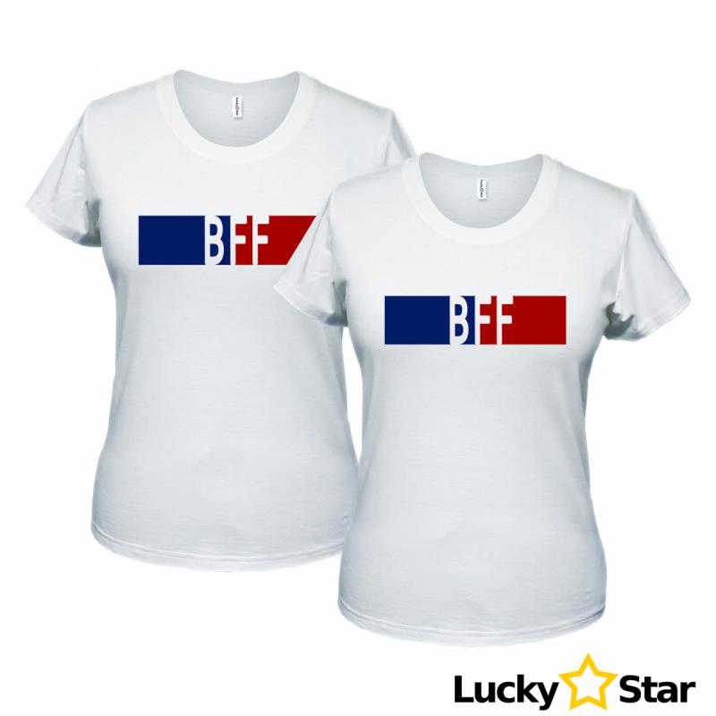 Zestaw koszulek dla przyjaciółek BFF