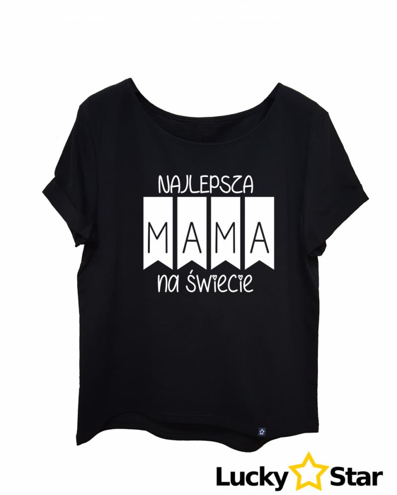 Koszulka Damska Najlepsza MAMA na świecie