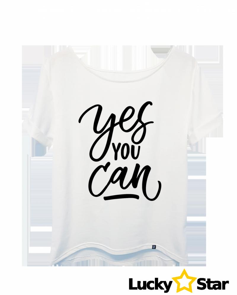 Koszulka Damska Yes you can!
