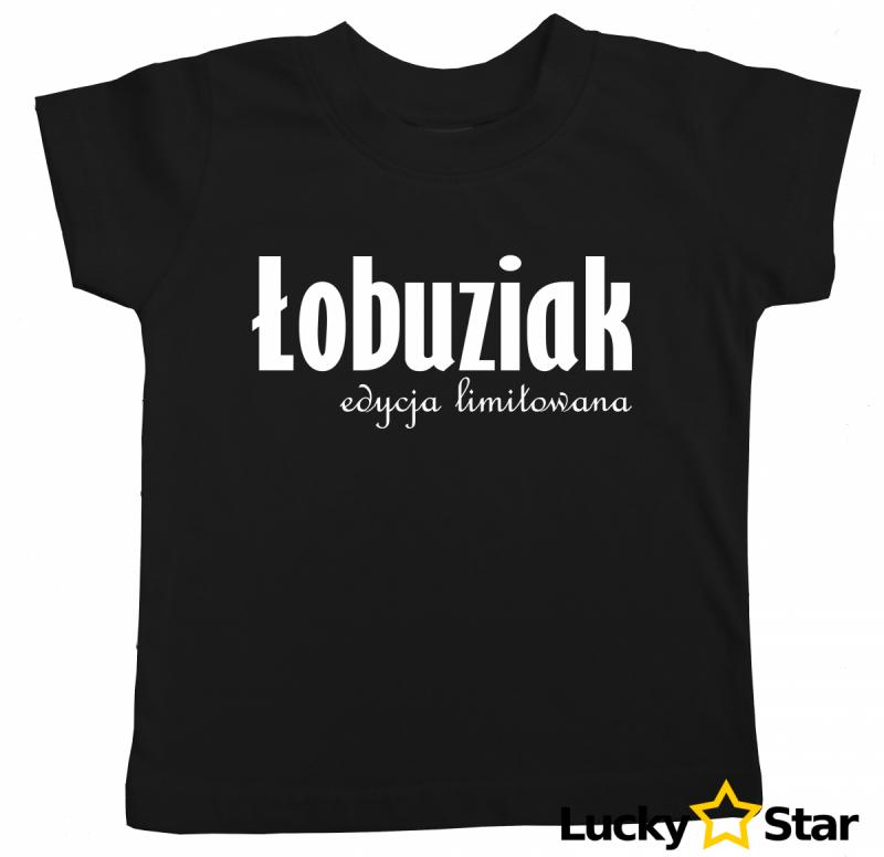 Koszulka dziecięca ŁOBUZIAK edycja limitowana