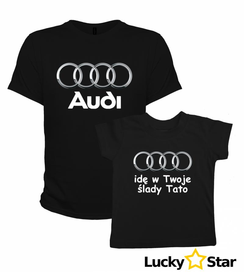 Nowość! Zestaw Audi dla taty i syna