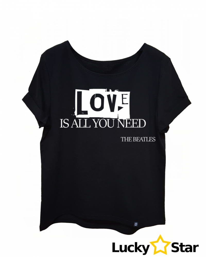Koszulka Damska oversize LOVE is all you need