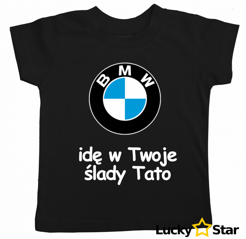 Zestaw BMW idę w Twoje ślady tato