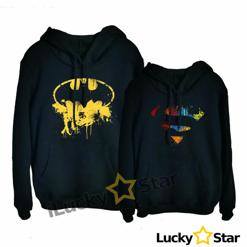 Bluzy dla par Super Hero