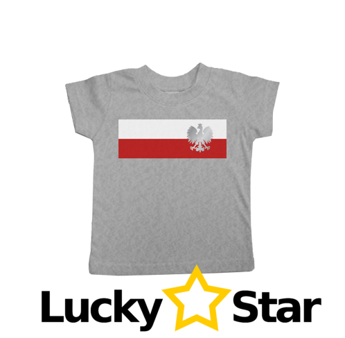 Koszulka dziecięca Flaga Biało-Czerwona