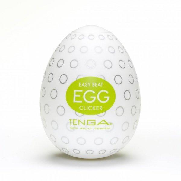 Tenga Egg Clicker Jajko do masturbacji