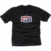 100 PROCENT T-SHIRT OFFICIAL KOLOR CZARNY