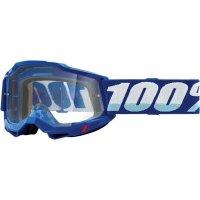 100 PROCENT GOGLE FA20 ACCURI 2 GOGGLE BLUE  CLEAR