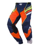 KENNY SPODNIE OFF-ROAD TITANIUM NAVY/ORANGE/LIME