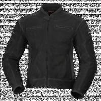 BUSE Kurtka motocyklowa skórzana  Bozano czarna