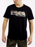 DAVCA T-shirt camo logo