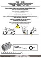 GIVI ES5101 POSZERZENIE STOPKI BMW G 650 GS (11-17)