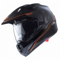 KENNY KASK EXTREME BLACK/NEON ORANGE