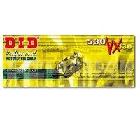Łańcuch napędowy DID G&B 530 VX/122 X-ringowy wzmocniony złoty 2154041