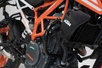 SW-MOTECH CRASHBAR/GMOL KTM 390 DUKE (16-) BLACK