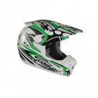 Kask LAZER SMX Bionic biały/zielony