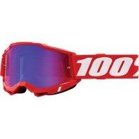 100 PROCENT GOGLE FA20 ACCURI 2 GOGGLE RED RED/BLU