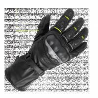 BUSE Rękawice motocyklowe ST Impact czarno-neonowe