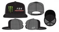 FOX  CZAPKA Z DASZKIEM MONSTER PC SNAPBACK BLACK