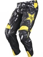ANSWER SPODNIE OFF-ROAD ROCKSTAR BLACK