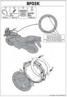 Kappa BF05K Pierścień mocujący tanklock Yamaha