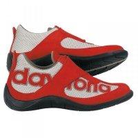 Buty Daytona Moto-fun czerwono-srebrne