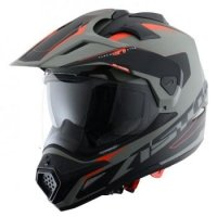 ASTONE KASK CROSS TOURER GR.ADVENTU MAT GR/BK