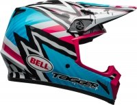 BELL KASK OFF-ROAD MX-9 MIPS TAGGER ASYM BLUE/PINK