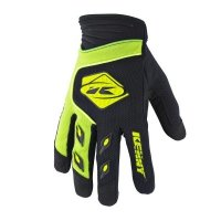 KENNY RĘKAWICE OFF-ROAD TRACK  LIME BLACK