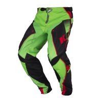 KENNY SPODNIE OFF-ROAD TRACK BLACK/GREEN/RED