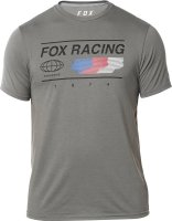 FOX T-SHIRT GLOBAL TECH GRAPHITE