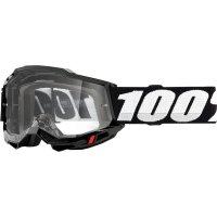 100 PROCENT GOGLE ACCURI 2 OTG GOGGLE BLACK CLEAR