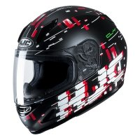 HJC KASK JUNIOR CL-Y GARAM BLACK/RED