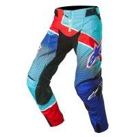 SPODNIE ALPINESTARS TECHSTAR VENOM S7 BLUE/CYAN/RED