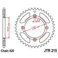 Zębatka tylna aluminiowa JT A215-50, 50Z, rozmiar 420 2303006 Honda CR 80