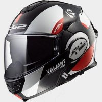 KASK LS2 FF399 VALIANT AVANT WHI/BLK RED