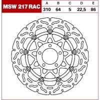 TRW Tarcza hamulcowa MSW217RAC SUZUKI GSX-R 750 11