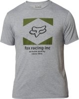 FOX T-SHIRT  STUDIO TECH HEATHER GRAPHITE