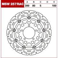 TRW Tarcza hamulcowa MSW257RAC KAWASAKI ZX-6 ER-6F