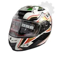 Kask Ispido RACE SV ITALIA biały/czerowny/czarny/zielony