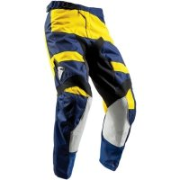 THOR SPODNIE YOUTH PULSE LEVEL NAVY/YELLOW =$