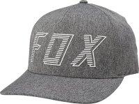 FOX CZAPKA Z DASZKIEM BARRED FLEXFIT DARK GREY