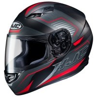 HJC KASK CS-15 TRION BLACK/RED