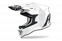 AIROH KASK OFF-ROAD STRYCKER COLOR WHITE GLOSS