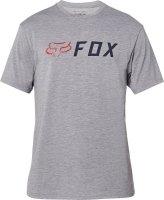 FOX T-SHIRT APEX TECH HEATHER GRAPHITE
